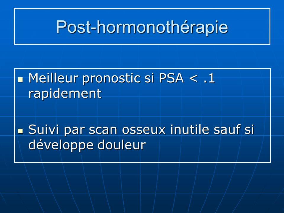 Post-hormonothérapie