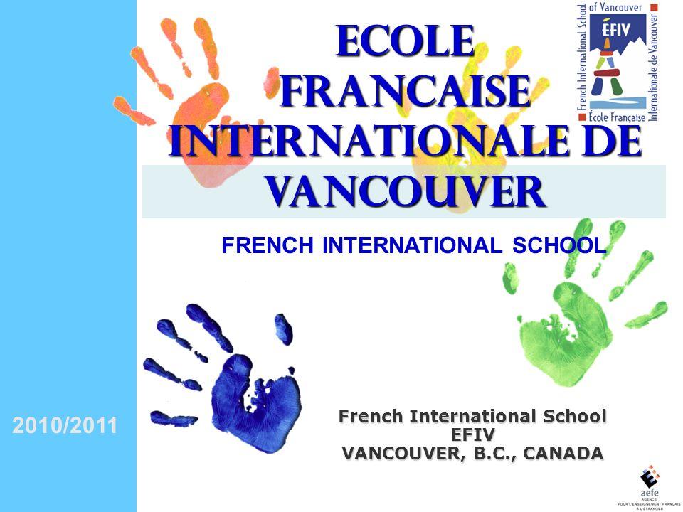 FRANCAISE INTERNATIONALE DE VANCOUVER French International School