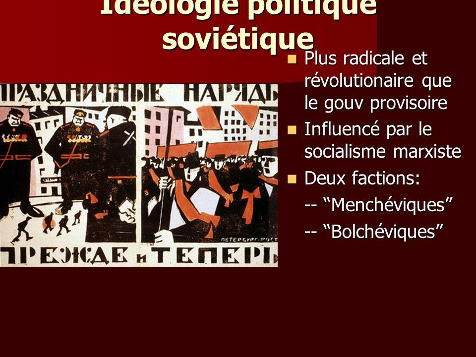 Idéologie politique soviétique