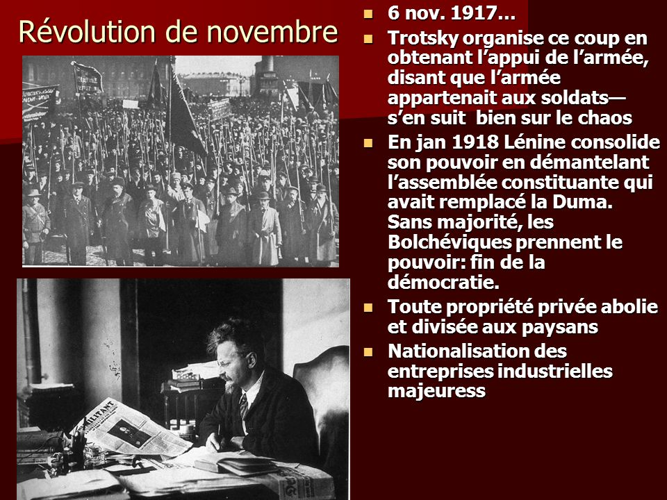 Révolution de novembre