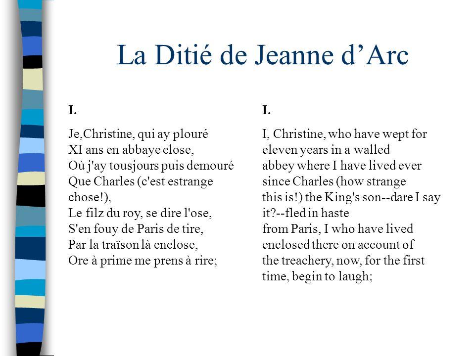 La Ditié de Jeanne d'Arc