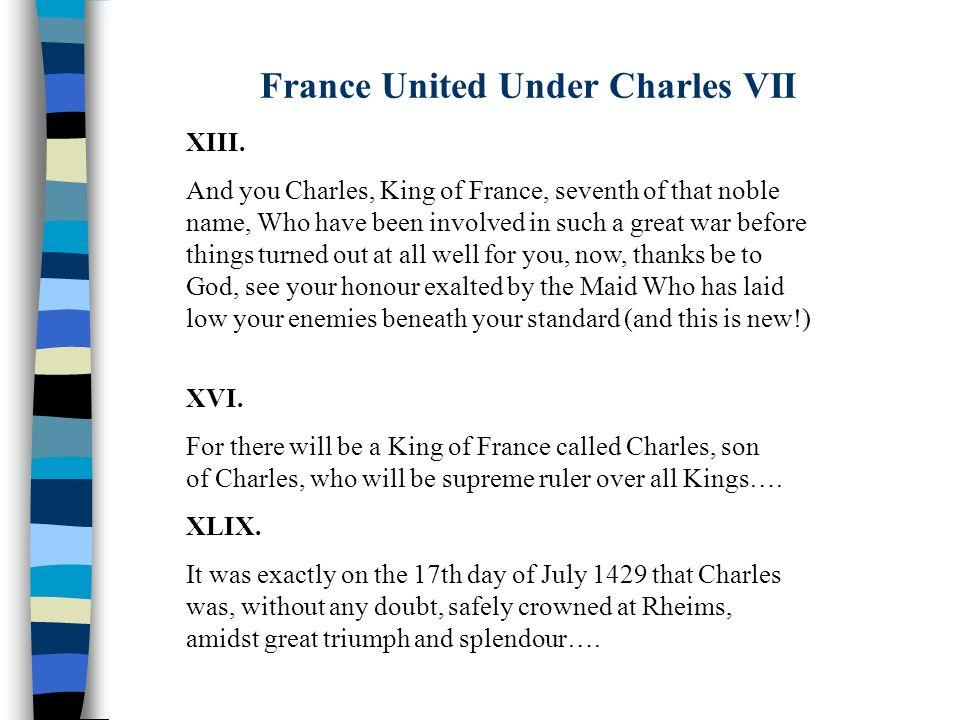 France United Under Charles VII