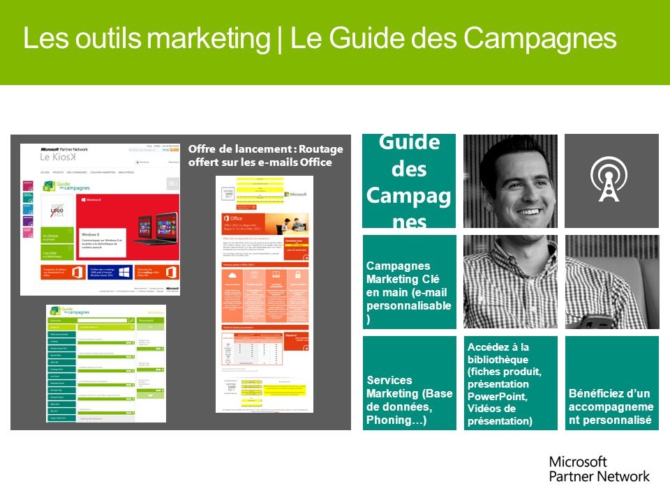 Les outils marketing | Le Guide des Campagnes