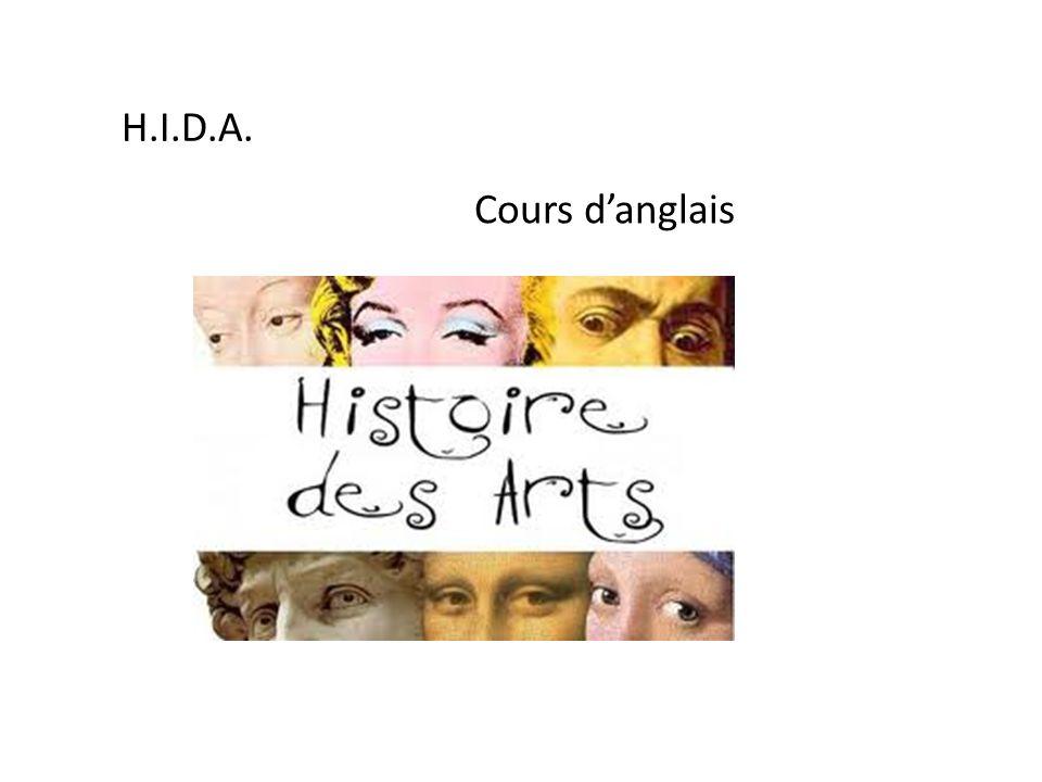 H.I.D.A. Cours d'anglais