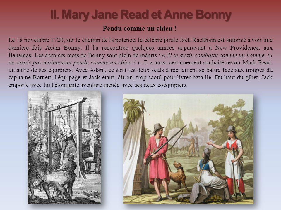 II. Mary Jane Read et Anne Bonny