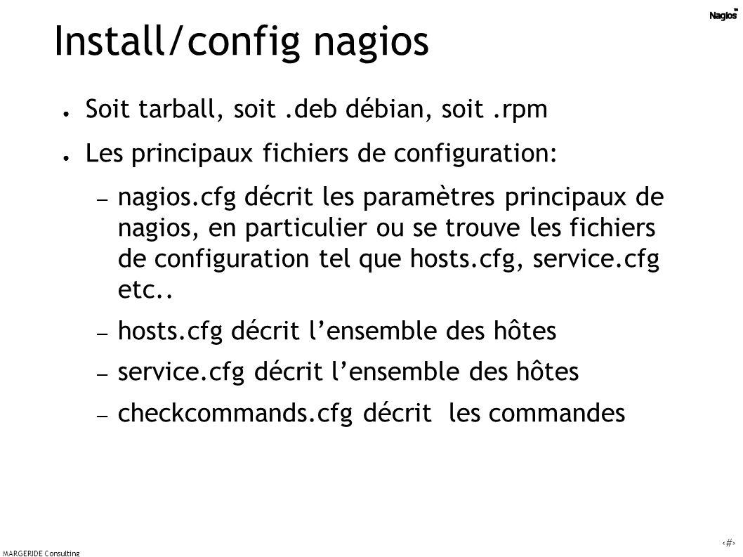 Install/config nagios