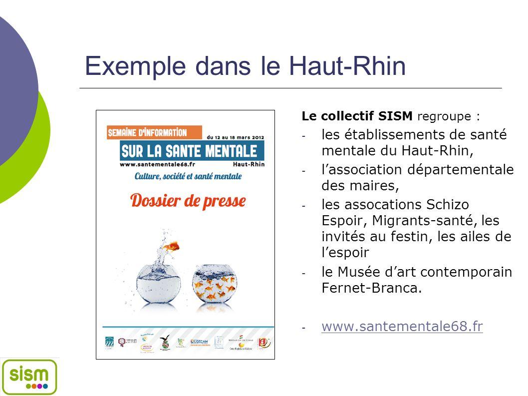 Exemple dans le Rhône* Le collectif SISM du Rhône est coordonné par l'ADES et regroupe :