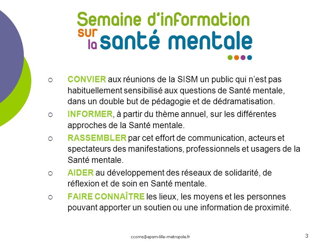 La semaine d'information sur la santé mentale en France : histoire et avenir