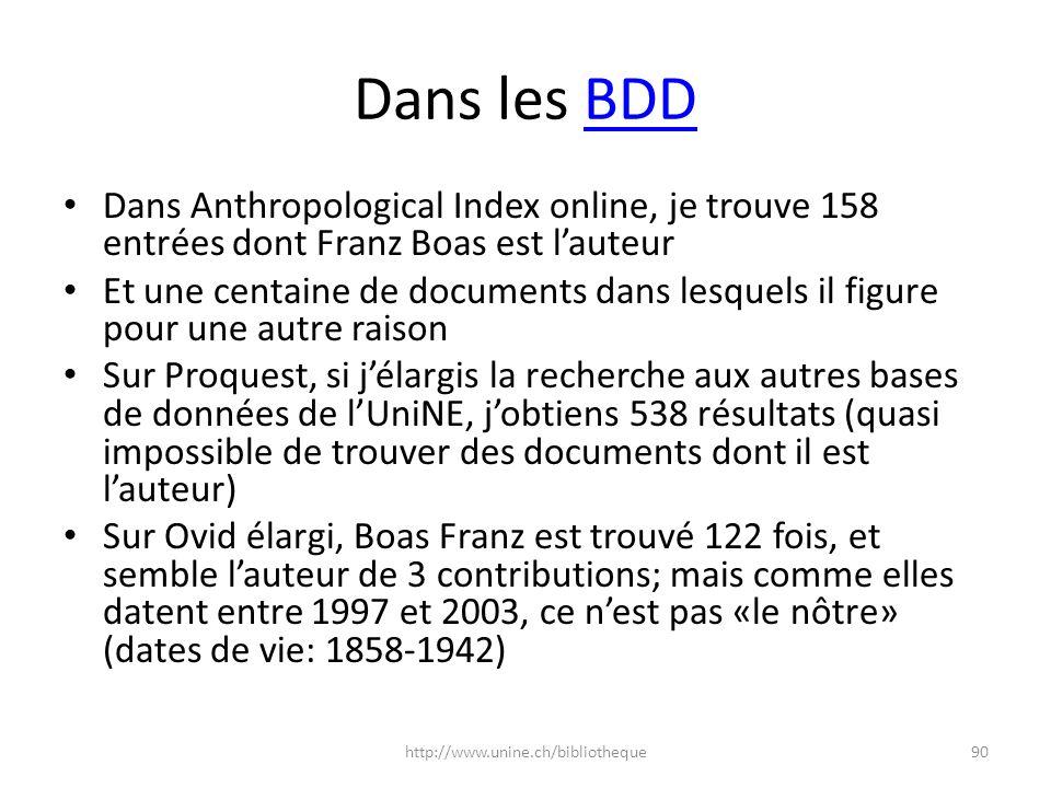 Dans les BDD Dans Anthropological Index online, je trouve 158 entrées dont Franz Boas est l'auteur.