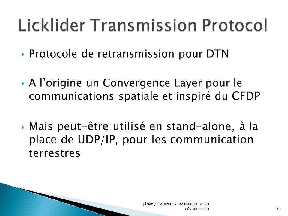 Licklider Transmission Protocol