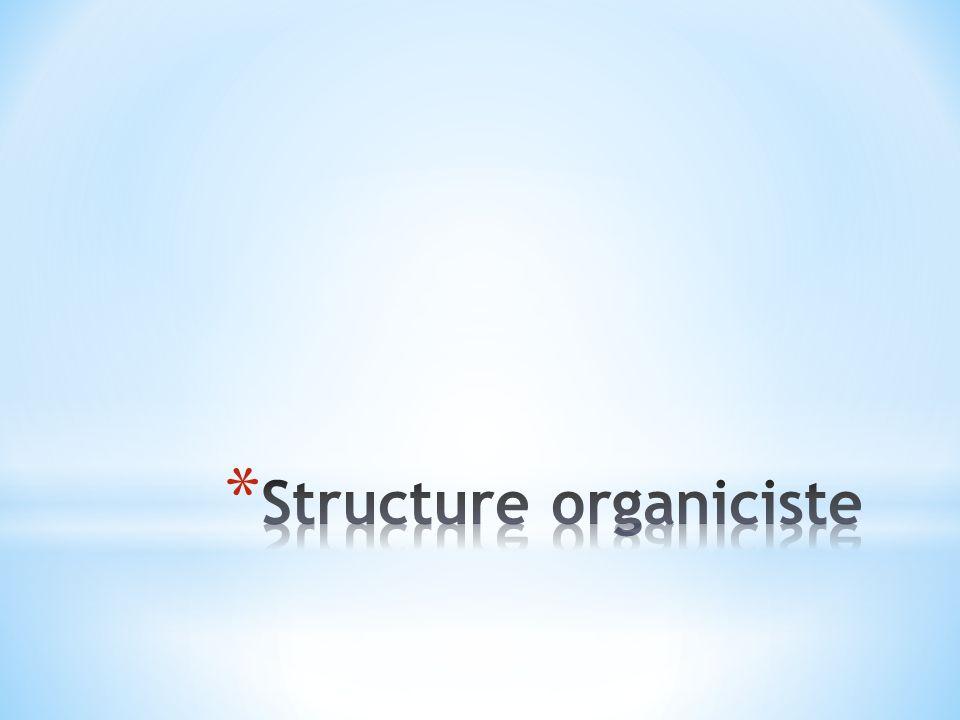Structure organiciste