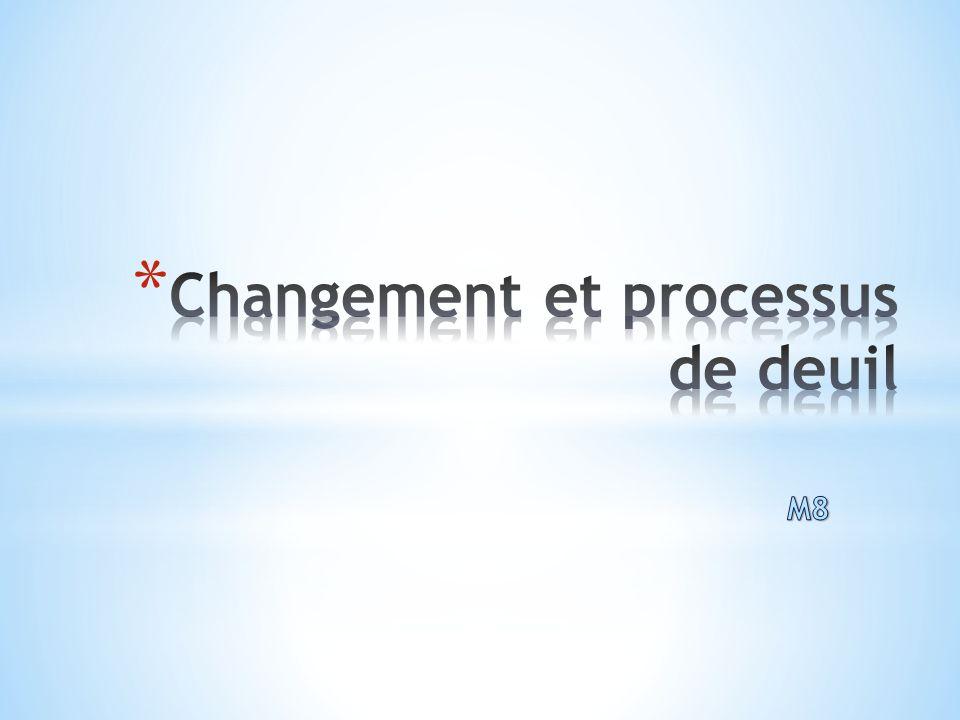 Changement et processus de deuil