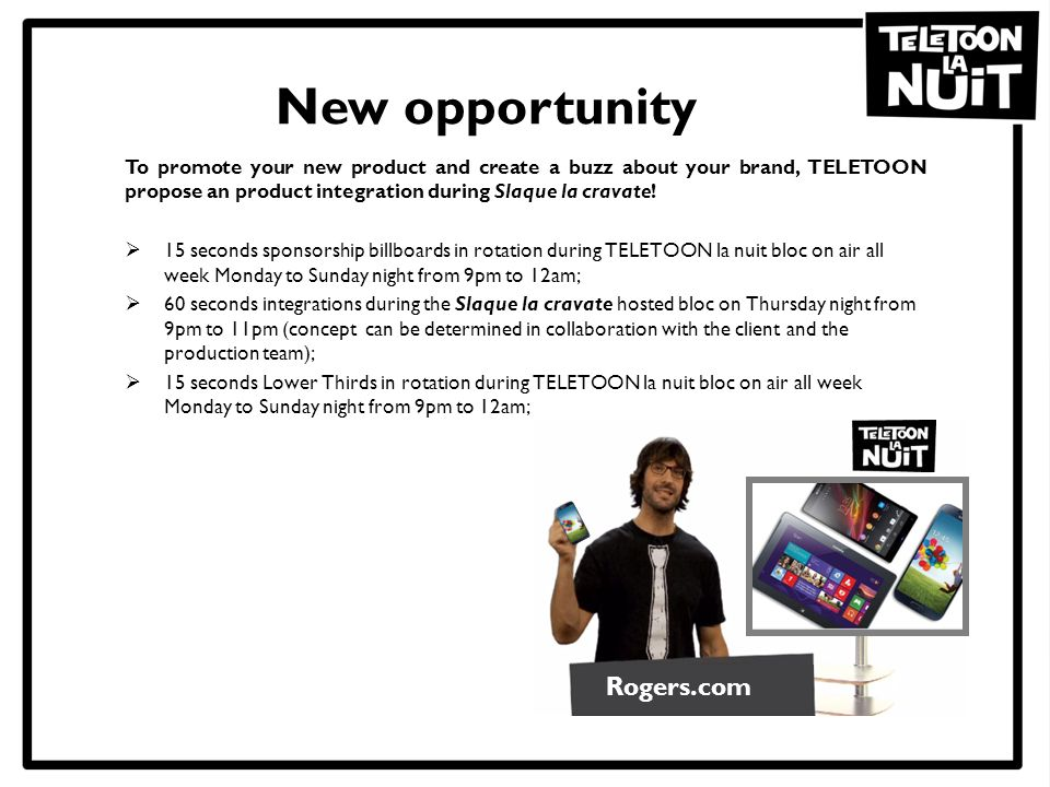 New opportunity Rogers.com