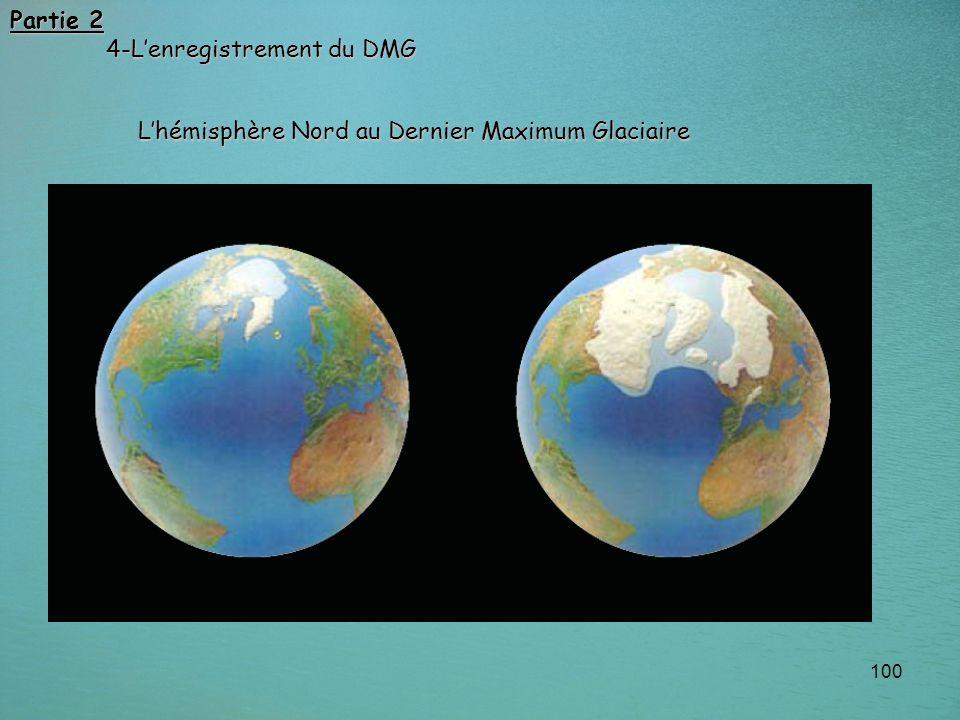 Partie 2 4-L'enregistrement du DMG L'hémisphère Nord au Dernier Maximum Glaciaire