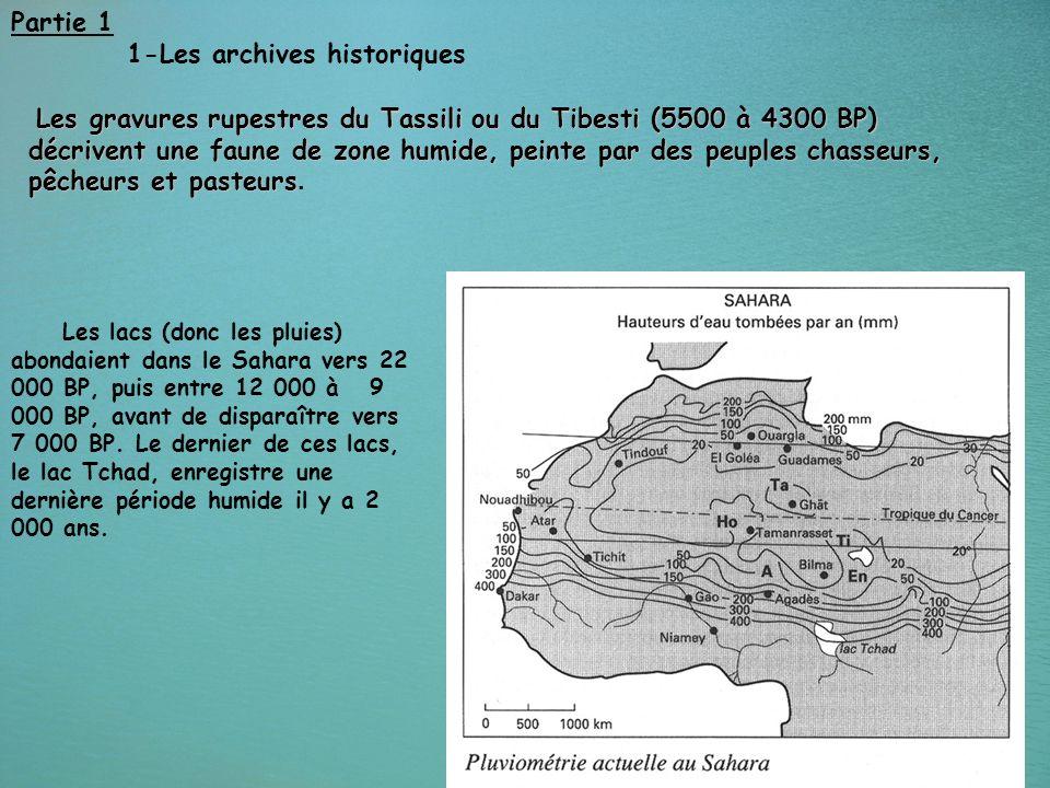 1-Les archives historiques