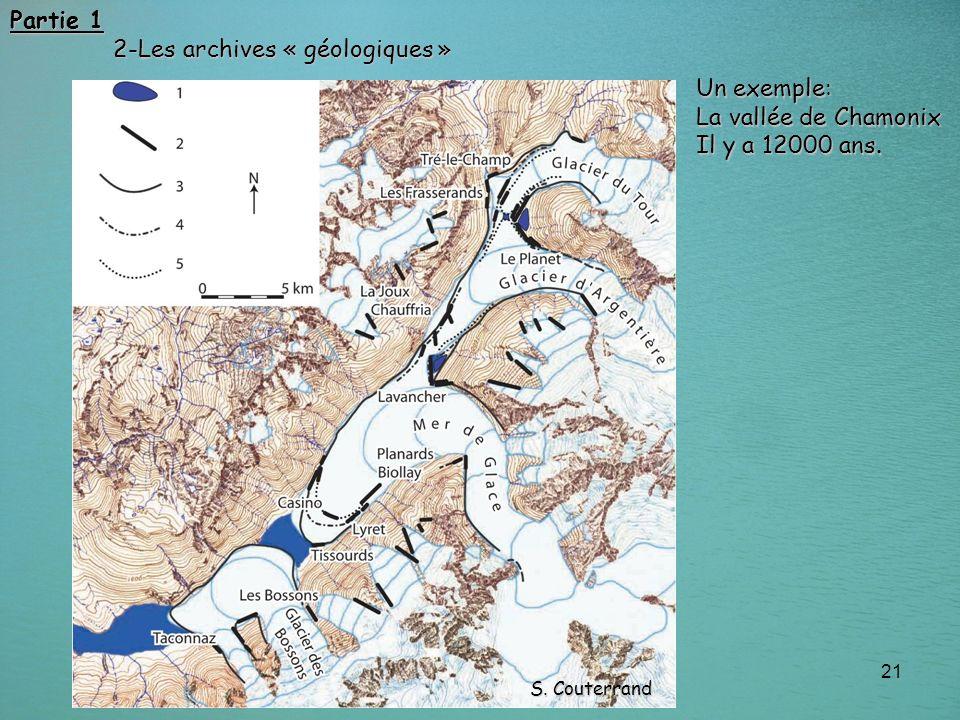 2-Les archives « géologiques »