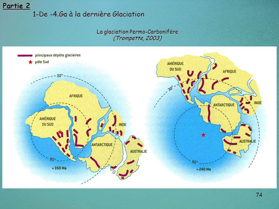 La glaciation Permo-Carbonifère