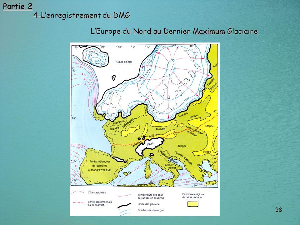 Partie 2 4-L'enregistrement du DMG L'Europe du Nord au Dernier Maximum Glaciaire