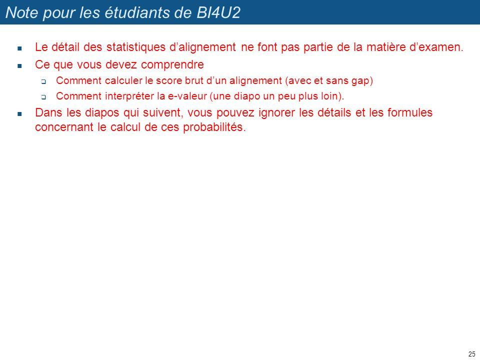 Note pour les étudiants de BI4U2