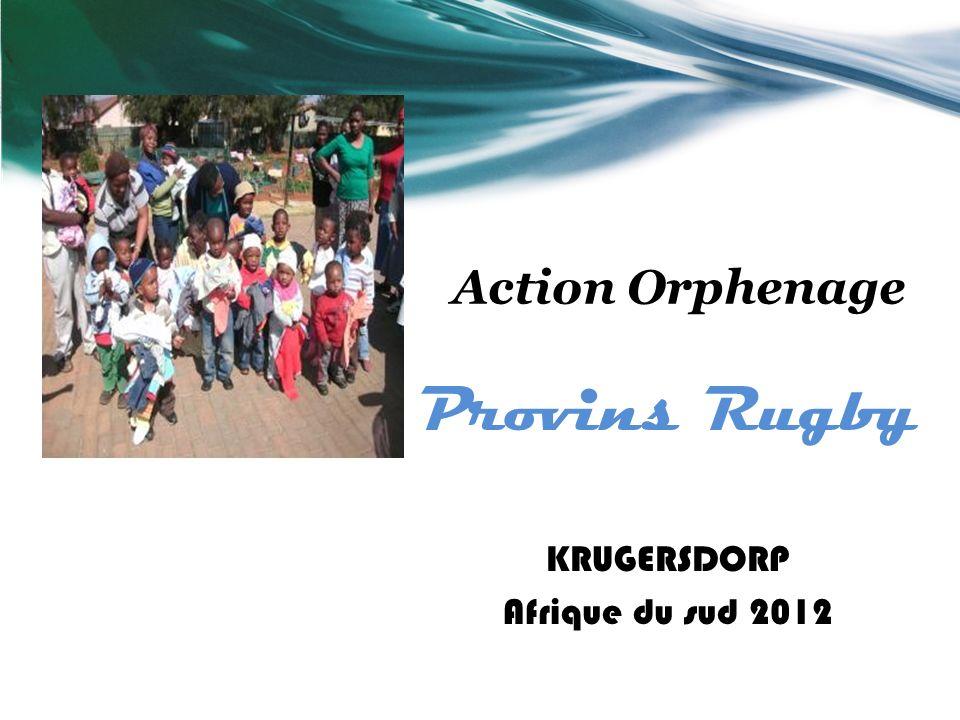 Provins Rugby Action Orphenage KRUGERSDORP Afrique du sud 2012
