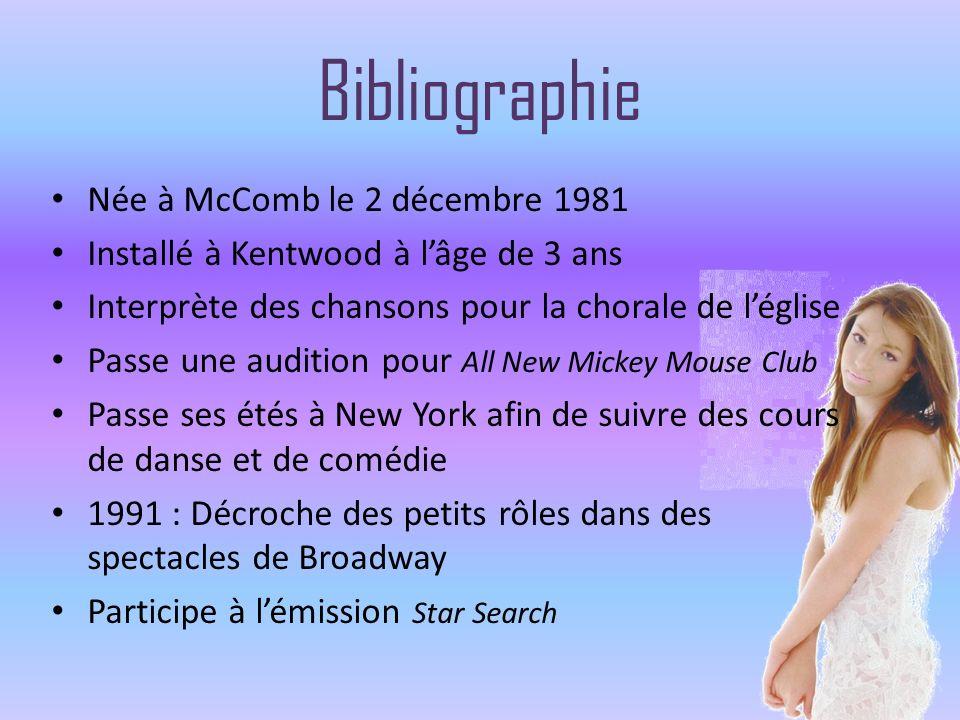 Bibliographie Née à McComb le 2 décembre 1981