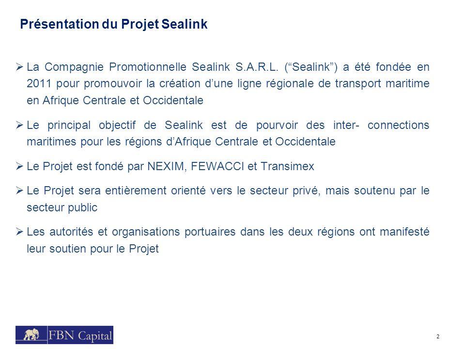 Présentation du Projet Sealink