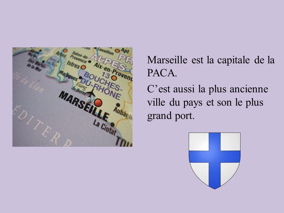 Marseille est la capitale de la PACA