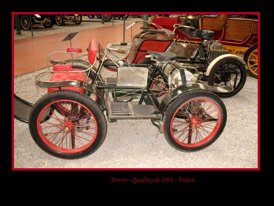 Soncin - Quadricycle 1901 - France