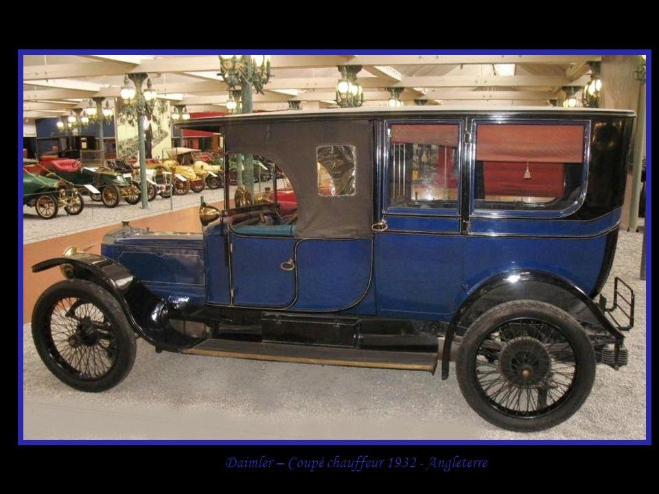 Daimler – Coupé chauffeur 1932 - Angleterre