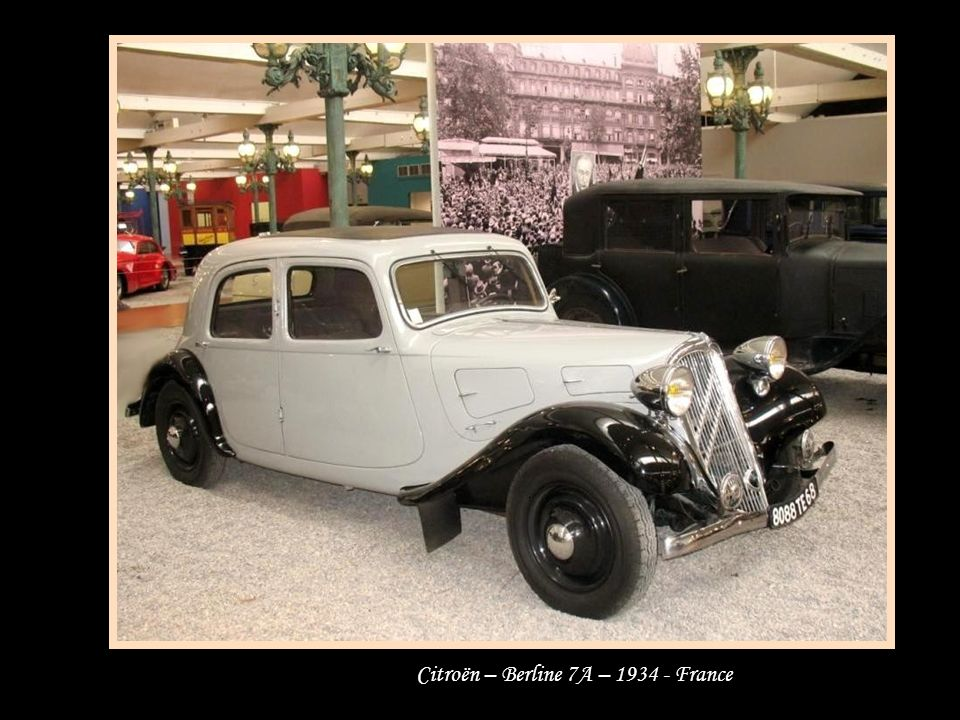 Citroën – Berline 7A – 1934 - France