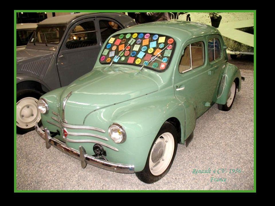 Renault 4 CV- 1956 - France