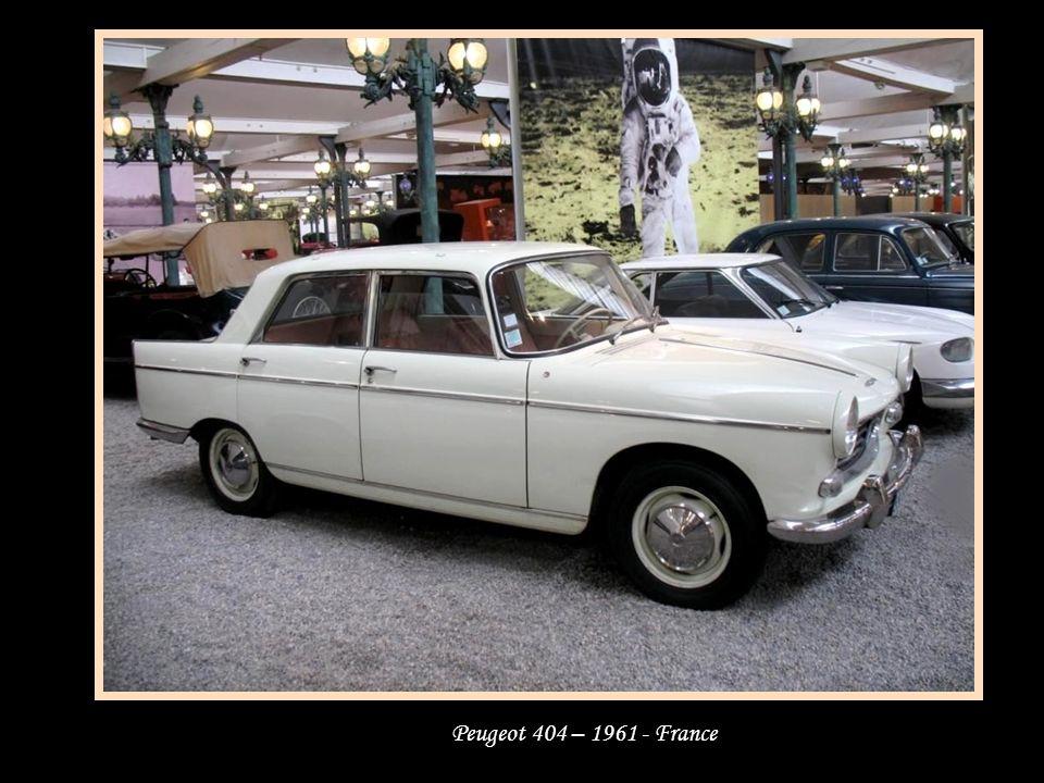 Peugeot 404 – 1961 - France