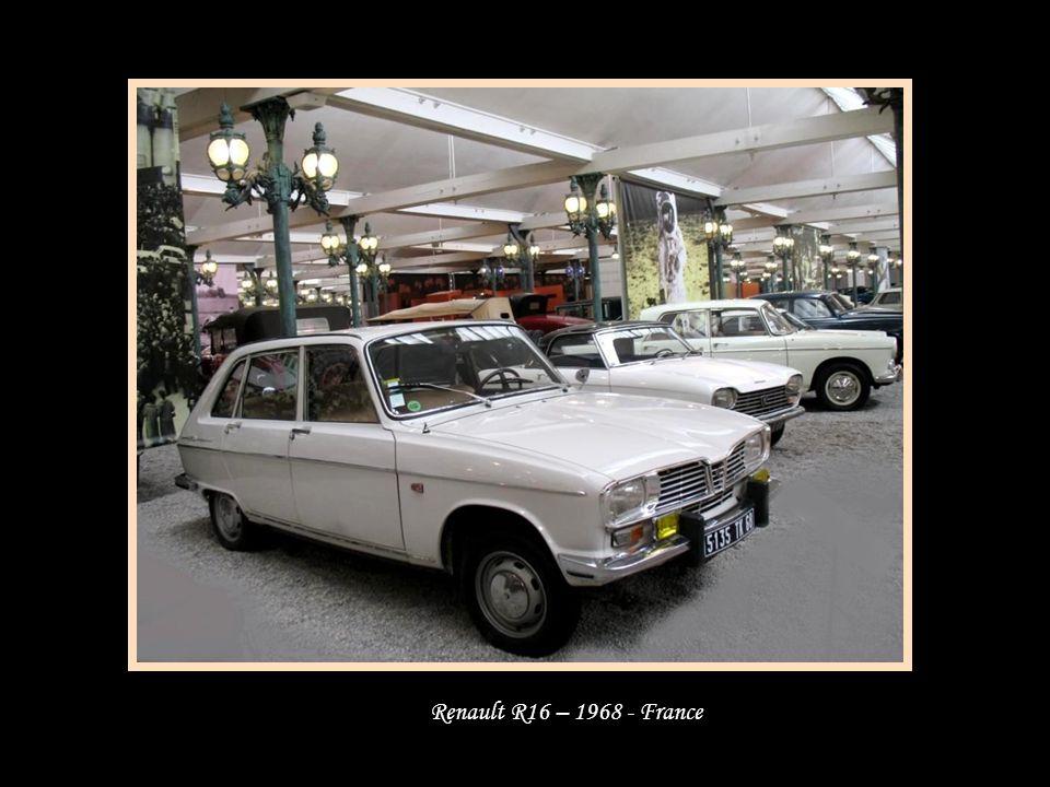 Renault R16 – 1968 - France