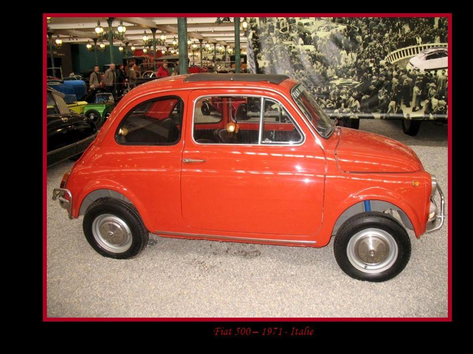 Fiat 500 – 1971 - Italie