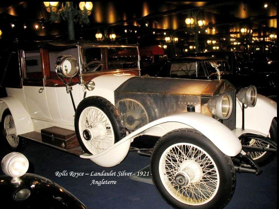 Rolls Royce – Landaulet Silver - 1921 - Angleterre