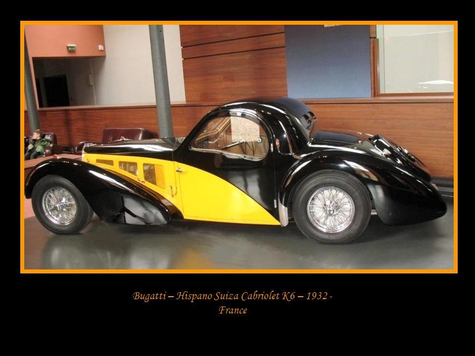 Bugatti – Hispano Suiza Cabriolet K6 – 1932 - France