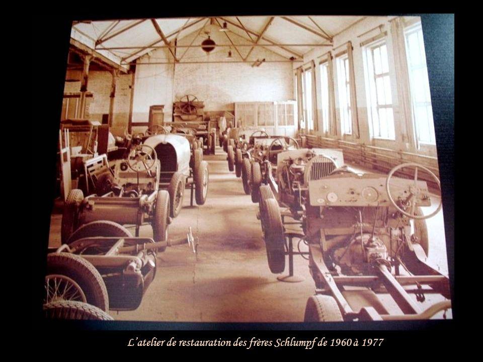 L'atelier de restauration des frères Schlumpf de 1960 à 1977