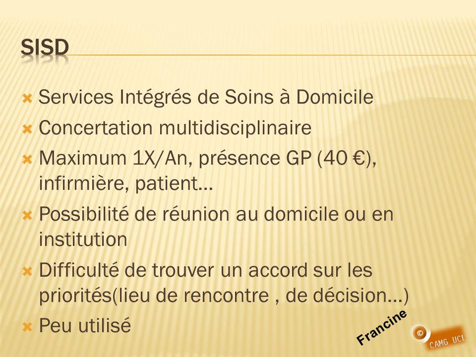 SISD Services Intégrés de Soins à Domicile