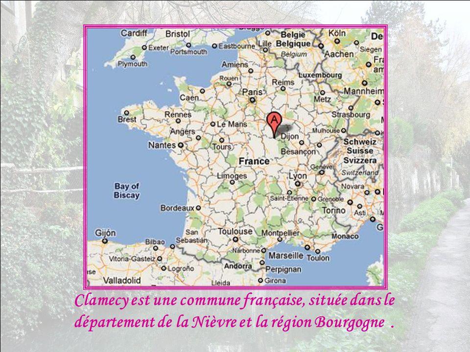 Clamecy est une commune française, située dans le département de la Nièvre et la région Bourgogne .