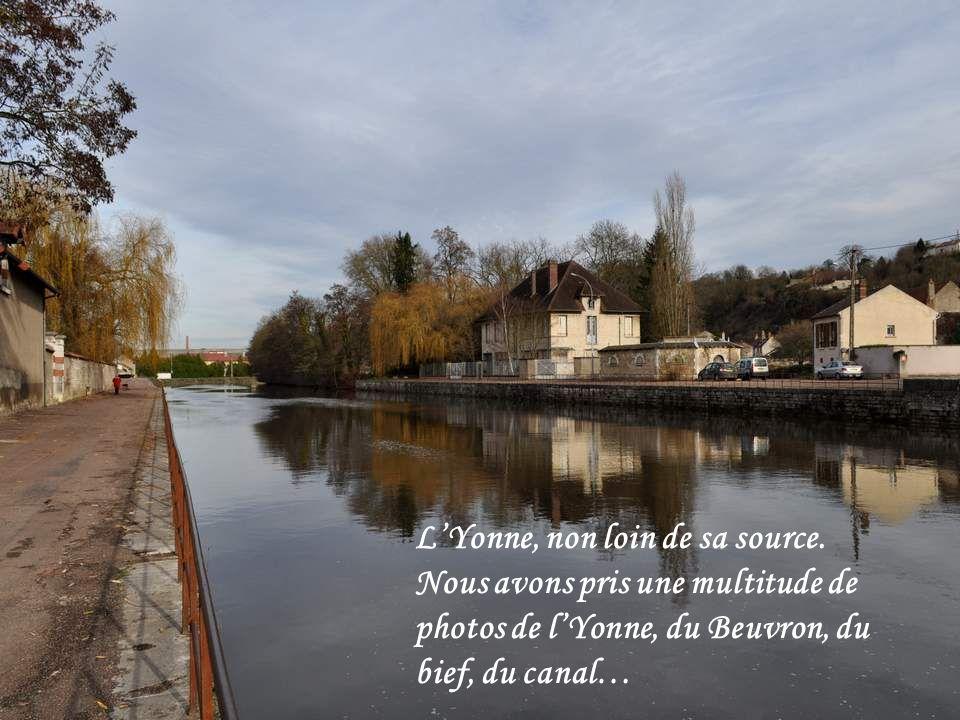 L'Yonne, non loin de sa source