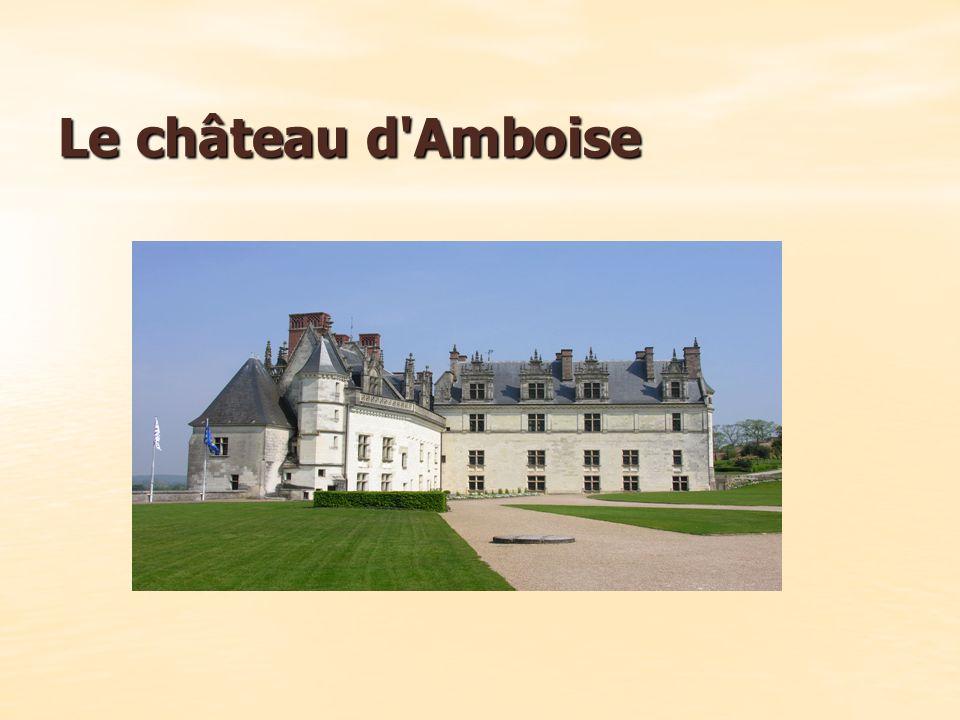 Le château d Amboise