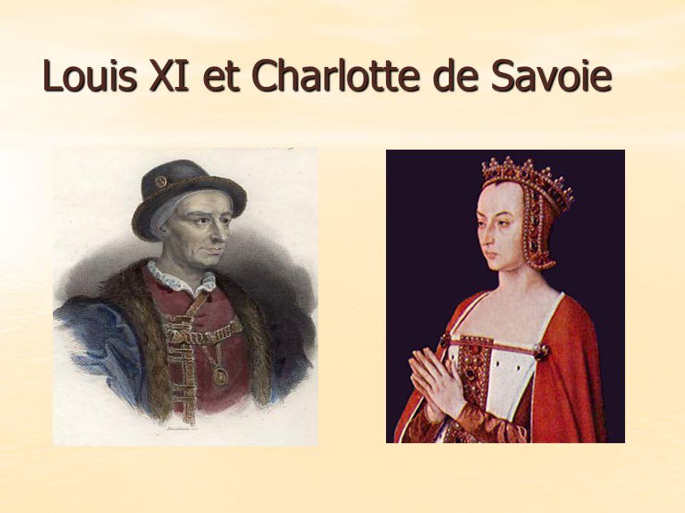Louis XI et Charlotte de Savoie