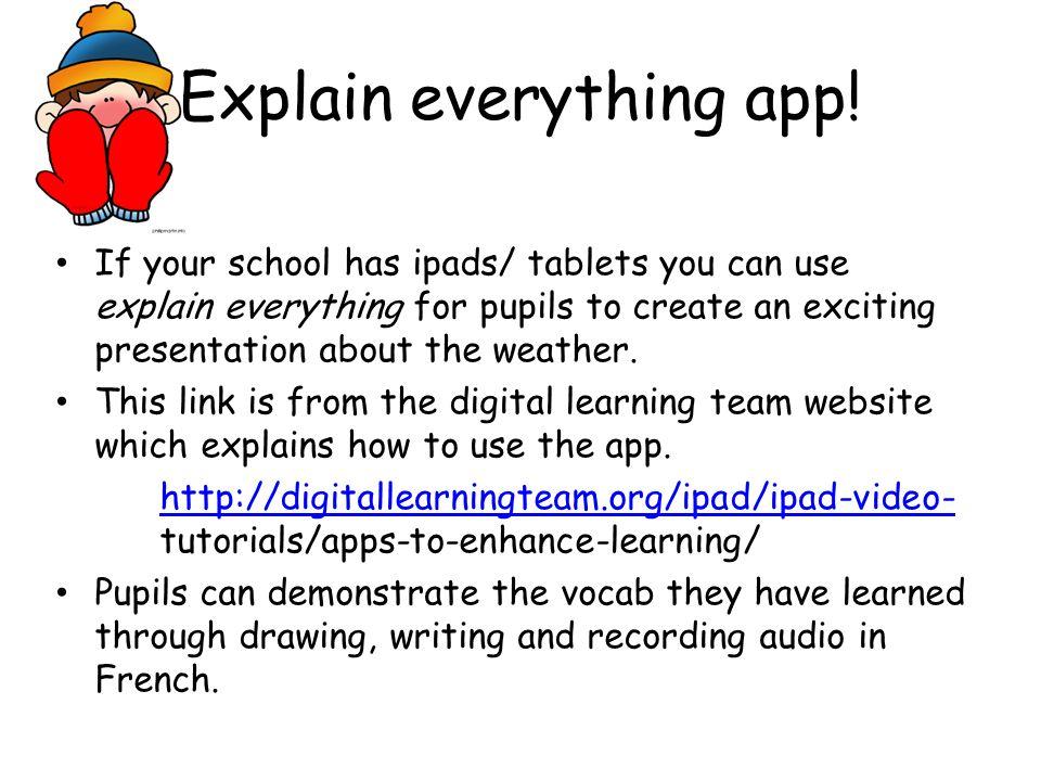 Explain everything app!