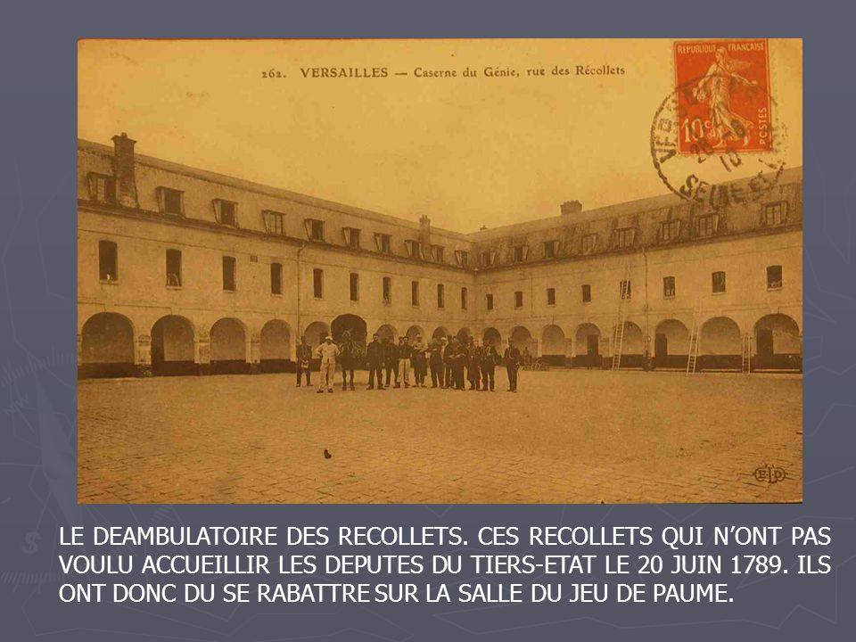 LE DEAMBULATOIRE DES RECOLLETS