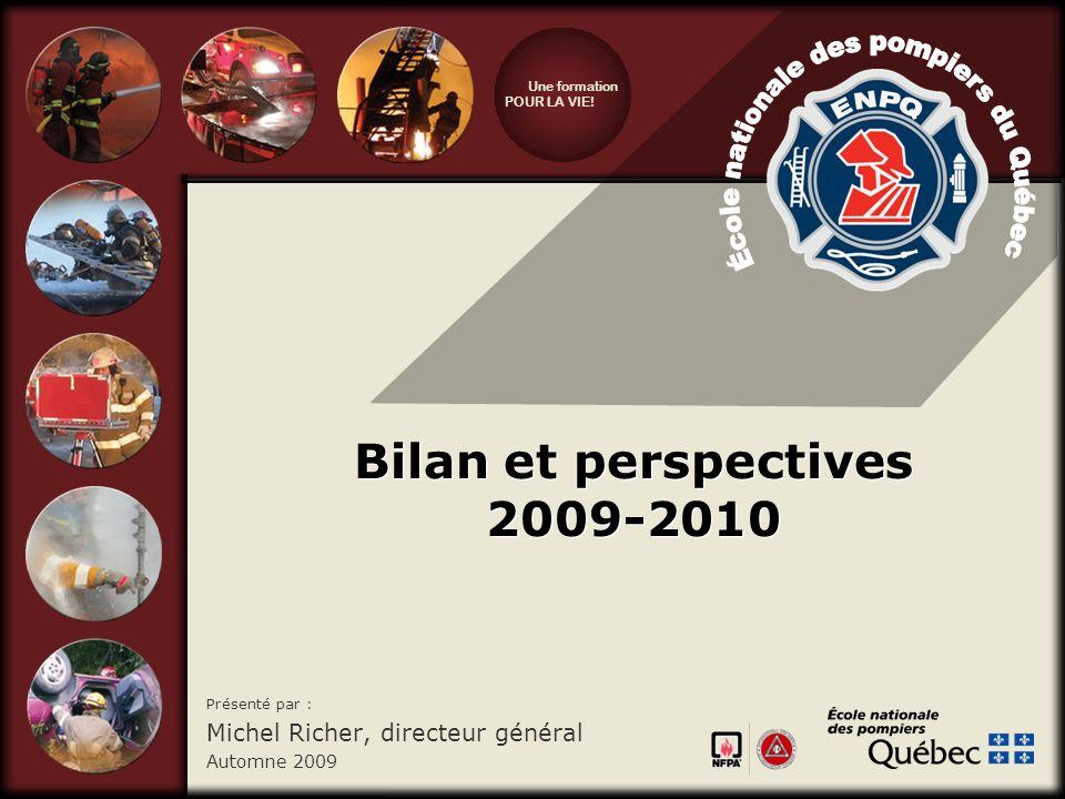 Bilan et perspectives 2009-2010