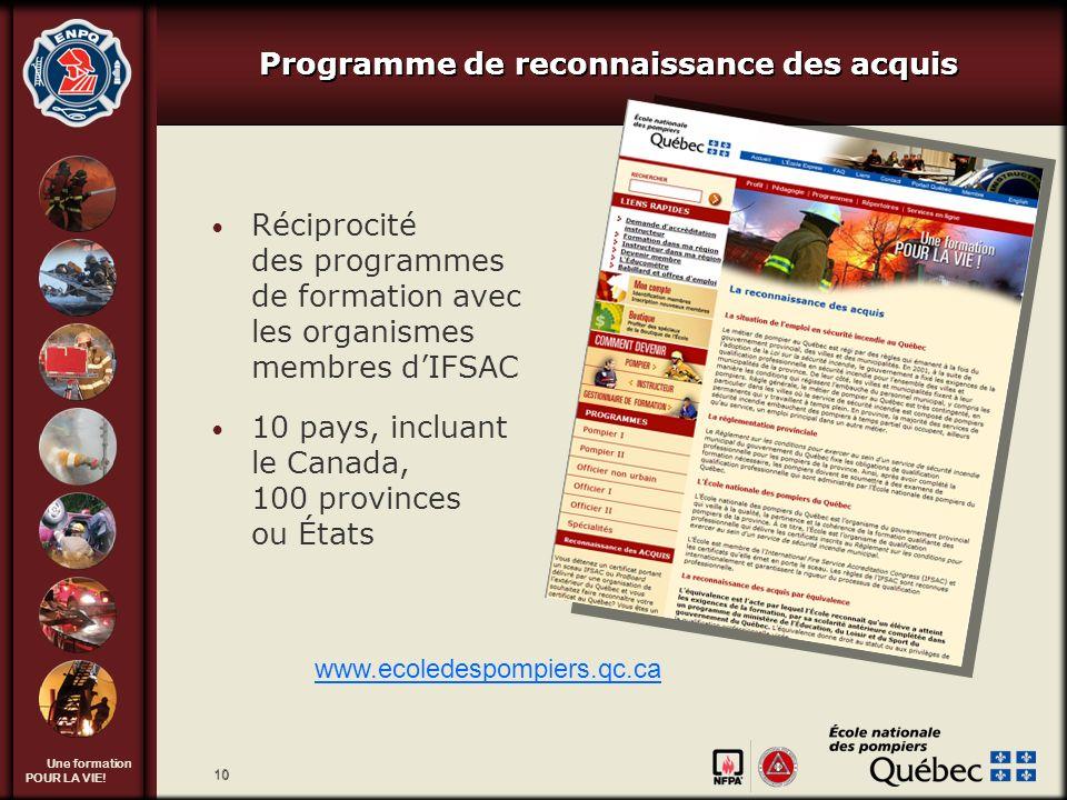 Programme de reconnaissance des acquis