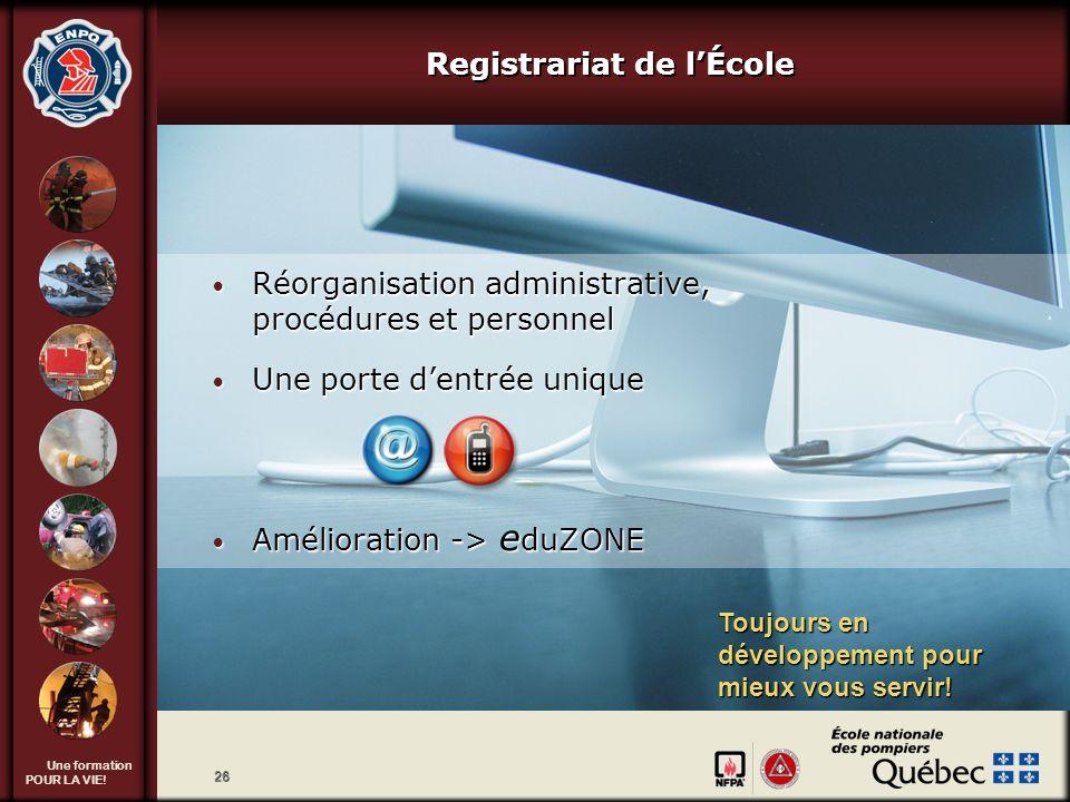 Registrariat de l'École