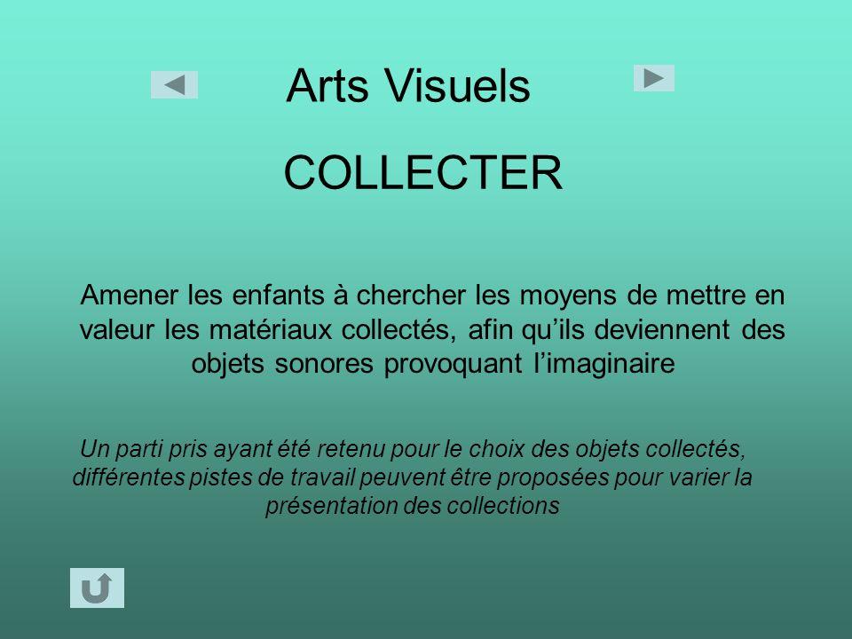 Arts Visuels COLLECTER