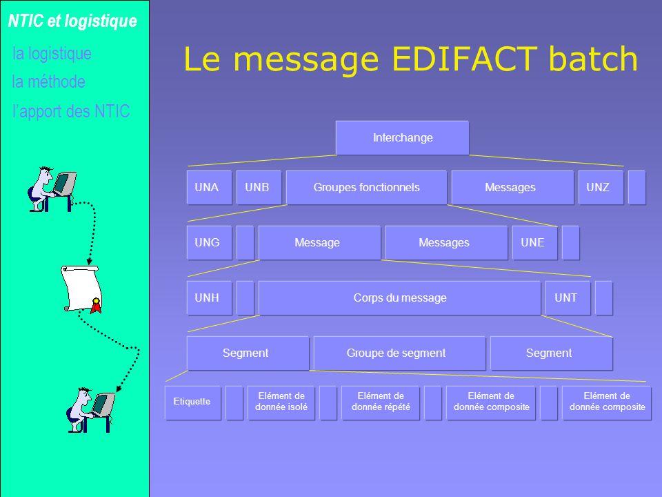 Le message EDIFACT batch
