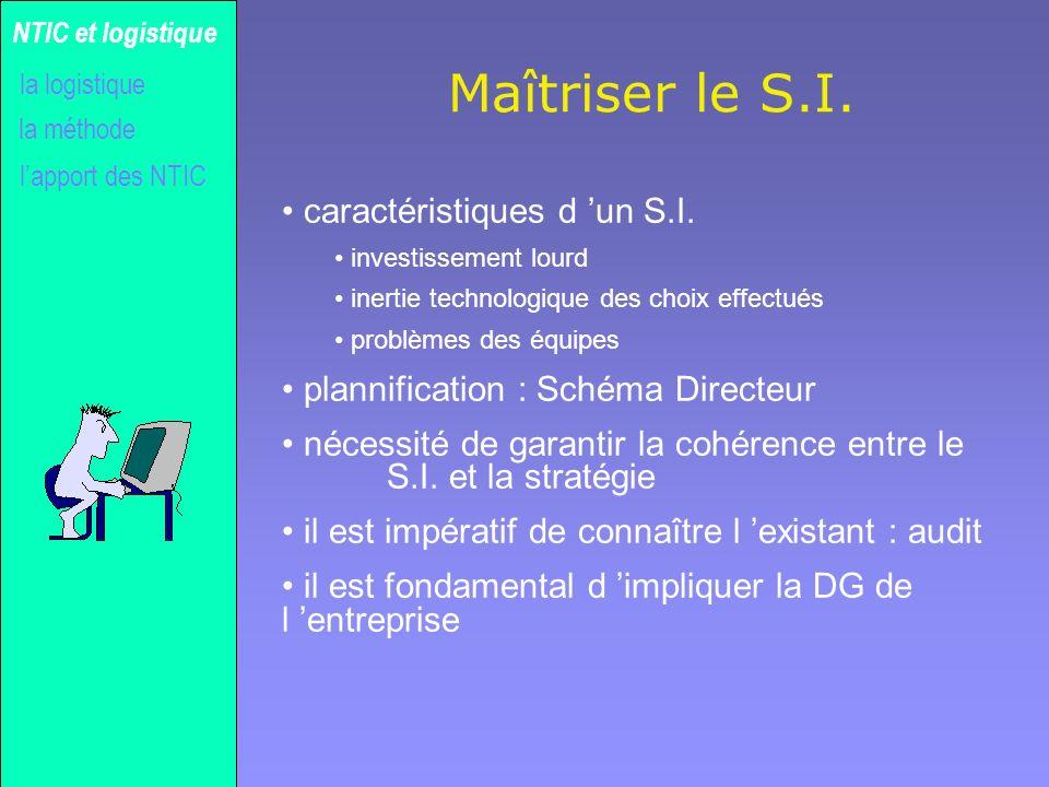 Maîtriser le S.I. caractéristiques d 'un S.I.